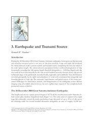 3. Earthquake and Tsunami Source Kenneth W. Hudnut a