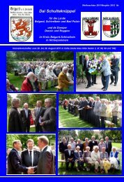 Bericht Treffen 2011 - Altes Land Belgard