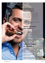 Tabakwaren & Raucherbedarf Tabacs et articles ... - Lekkerland.ch