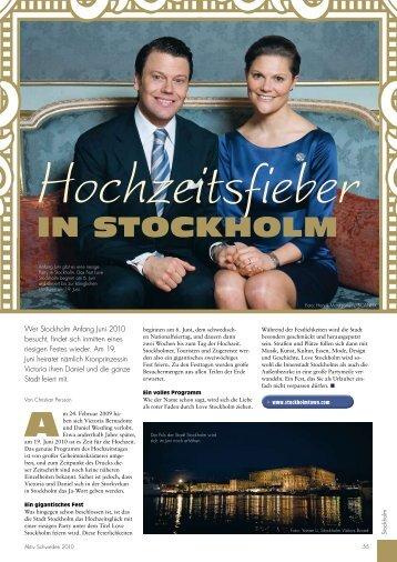 in Stockholm - AktivSchweden