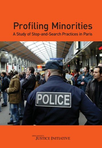 A Study of Stop-and-Search Practices in Paris - Open Society ...