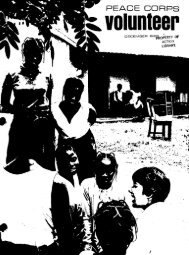 Peace Corps Volunteer – December 1966 - Peace Corps Online
