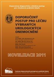 Doporučený postup pro léčbu vybraných urologických onemocnění