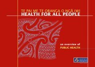 Health for all People - Ministry of Health