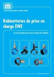 Robinetteries de prise en charge EWE