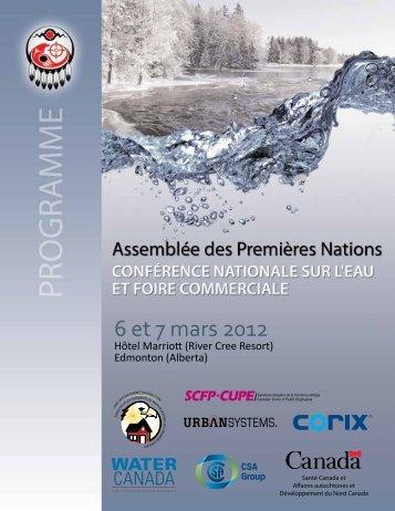 6 et 7 mars 2012 - Assemblée des Premières Nations