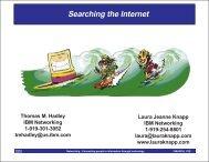 Searching the Internet - Laura Jeanne Knapp