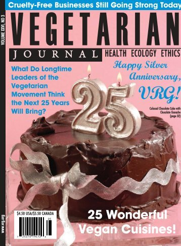 PDF - Issue 3 2007 Cover.qxd - The Vegetarian Resource Group