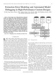 ieee transactions on very large scale integration (vlsi) - Computer ...