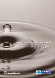 World Wealth Report 2003 World Wealth Report 2003 - DIA