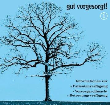 Informationen zur Patientenverfügung ... - Info.Search