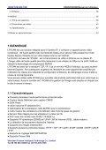 IP sans fil/caméra filaire Manuel de I'utilisateur - Page 3