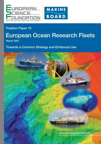 European Ocean Research Fleets - European Science Foundation