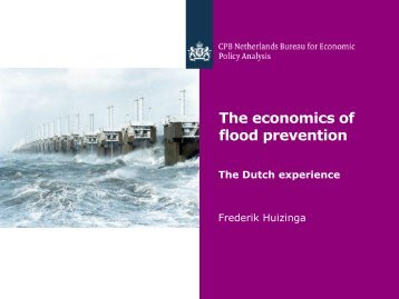 The economics of flood prevention