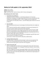 Referat af møde nr 13 - DEFF