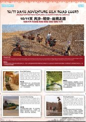 10/11 Days Adventure Silk Road (osr)