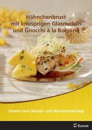 Rezept und Weinempfehlung Nudeln 2010 ... - Compass Group