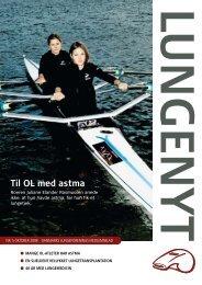Til OL med astma - Danmarks Lungeforening