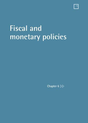 Fiscal and monetary policies - Ministry of Trade and Industry