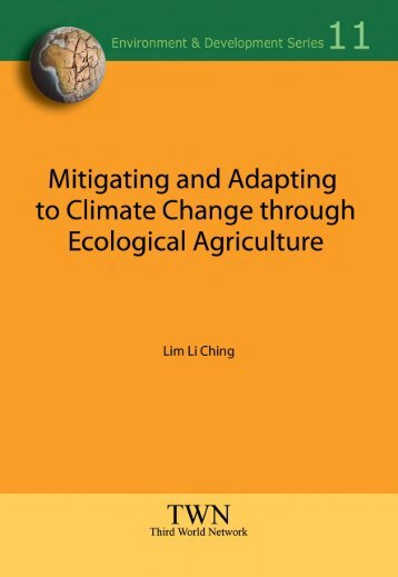 Mitigating and Adapting to Climate Change through Ecological ...