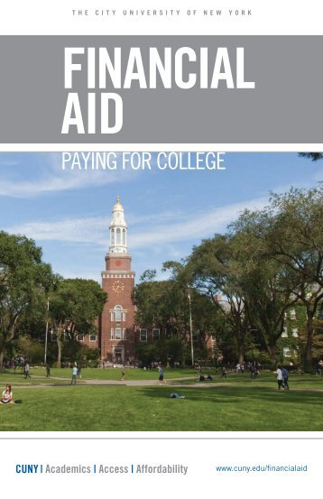 PAYING FOR COLLEGE - CUNY