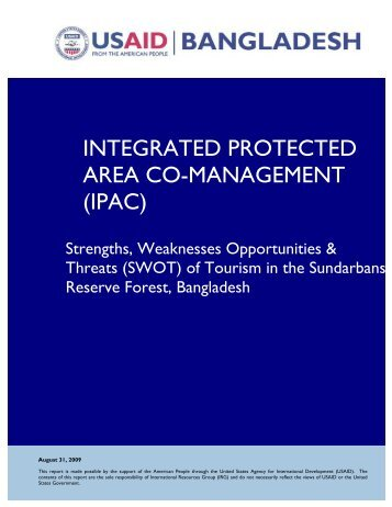 tourism bangladesh swot analysis Swot analysis and pest analysis (notes to accompany templates) the swot analysis is an extremely useful tool for understanding and reviewing the company's.