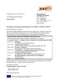 Einladung bayern_20060117 - bauen innovativ
