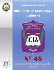 Boletín Informativo 2012 - Universidad de Panamá