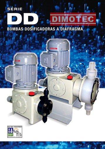 bombas dosificadoras a diafragma bombas dosificadoras ... - Dimotec