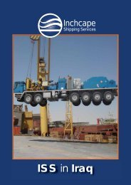ISS in Iraq - Inchcape Shipping Services