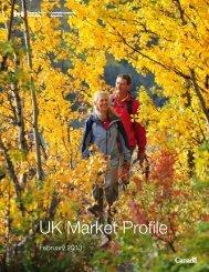 UK Market Profile - Canadian Tourism Commission - Canada
