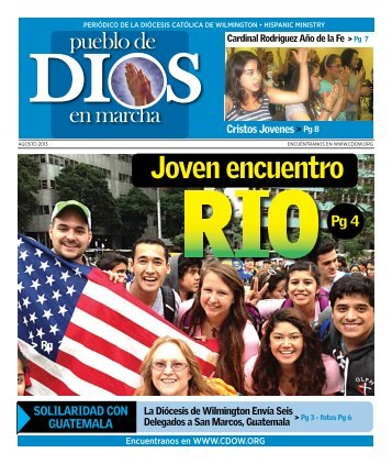 Joven encuentro - Catholic Diocese of Wilmington