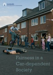 Fairness in a Car-dependent Society - Sustainable Development ...