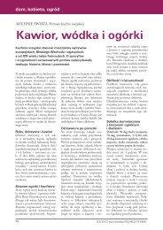 Kawior, wódka i ogórki – kuchnia rosyjska (360 kB)