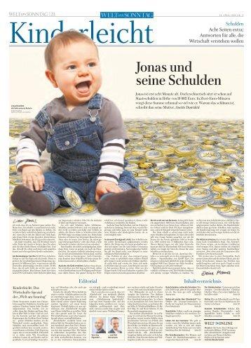 Jonas und seine Schulden