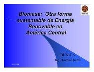 Otra forma sustentable de Energía Renovable en ... - CEDECAP