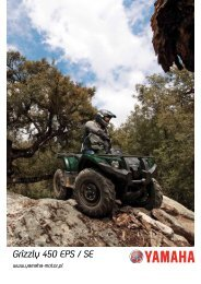 Grizzly 450 - broszura (PDF) - Yamaha Motor Europe