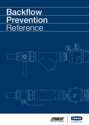 Backflow Prevention Reference - Reece