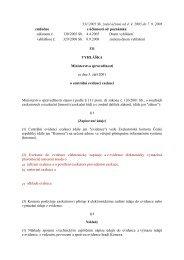 vyhláška č. 331/2001 Sb.