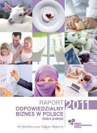 RAPORT Odpowiedzialny biznes w Polsce 2011 - Forum ...