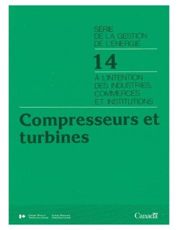 Compresseurs et turbines - L'Office de l'efficacité énergétique