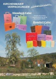 Standard-Color Komfort-Color -  Kirchenmaier Verpackungen