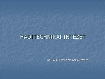 Haditechnikai Intézet - Uni-Nke