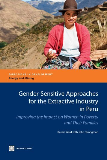Gender-Sensitive Approaches for the Extractive Industry ... - CommDev