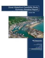 Summary Report - Dover Waterfront - Dover District Council
