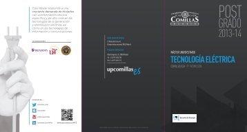 TECNOLOGÍA ELÉCTRICA - Universidad Pontificia Comillas