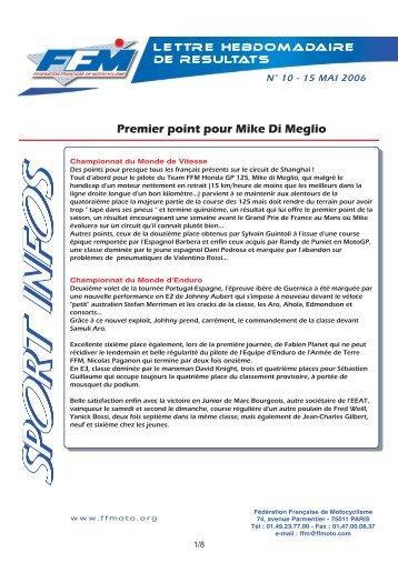 sport infos 10.qxd - Moto Station