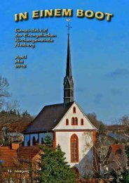1. 4. 5. 6. 7. 8. 9. 15. 22. 28. 29. - Kirche Neuberg