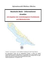Nautische Basisinformationen Kroatien - Yachtrevue