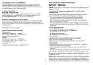 REPISAN® - Tabletten - Richard Bittner AG